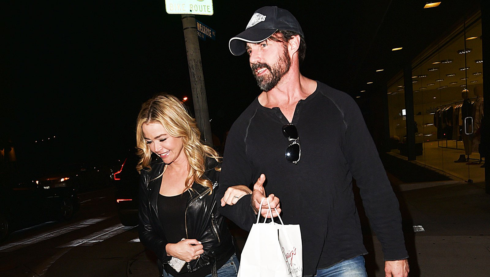 Denise Richards and Hubby Twin Low-Key Style, Plus More Matching Duos