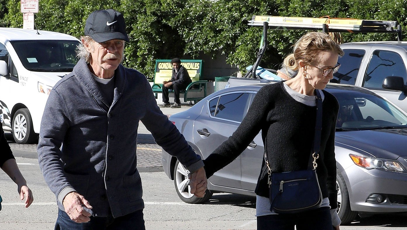 Felicity Huffman, William H. Macy Hold Hands as She Returns to Court