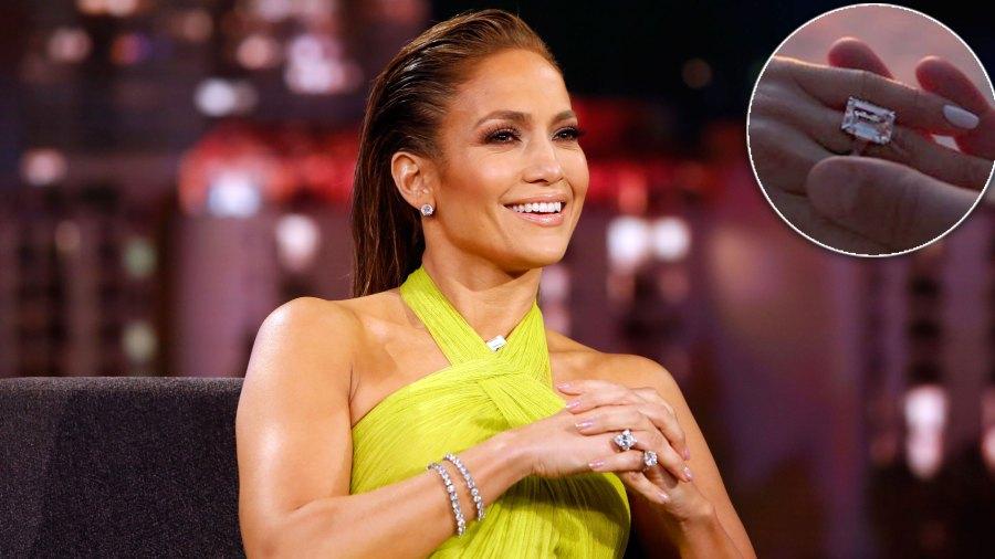 Get All the Details on Jennifer Lopez's Estimated $5 Million Ring