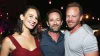 Ian Ziering Shares Luke Perry Story