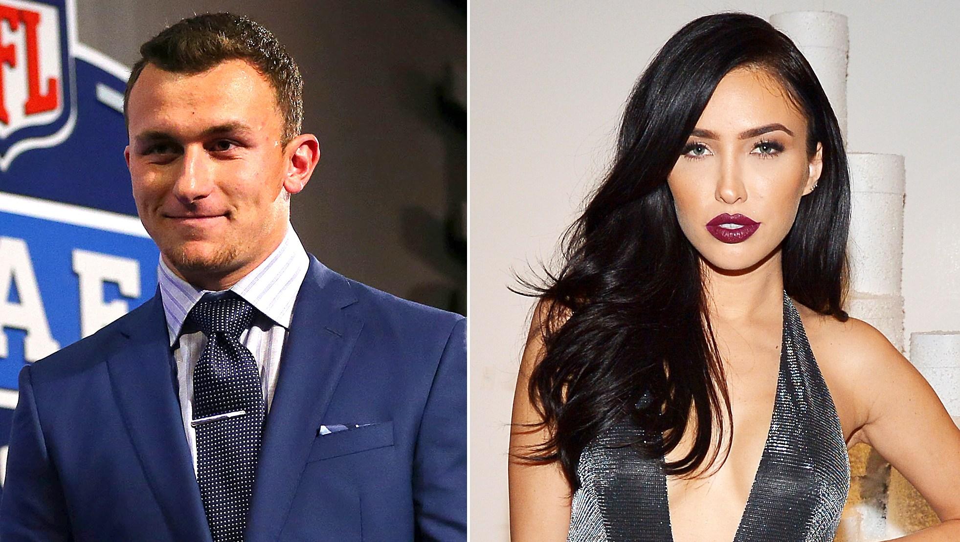 Johnny Manziel and Wife Bre Tiesi Spark Split Rumors After Peculiar Instagram Activity