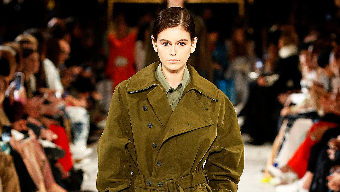 Kaia Gerber Continues to Prove Her Catwalk Skills at Paris Fashion Week