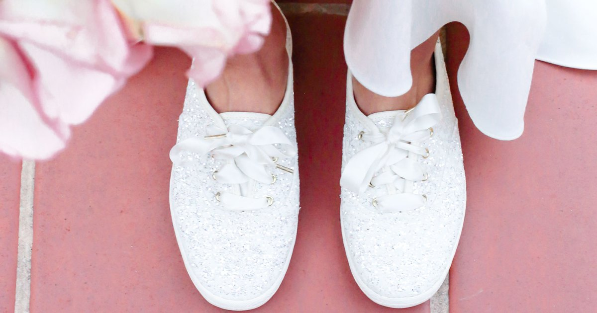 0f7688e66ce7 Keds x Kate Spade New York Spring 2019 Bridal Sneakers: Shop