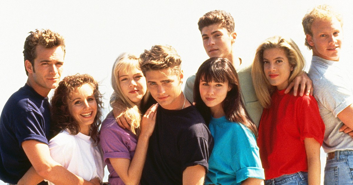 'Beverly Hills, 90210' Stars React After Luke Perry Dies at 52