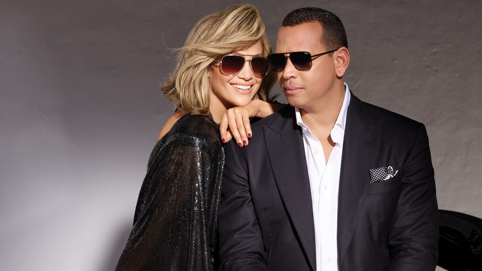 4dad9c014e2e Jennifer Lopez and Alex Rodriguez Dropped a Sunglasses Line With Quay  Australia