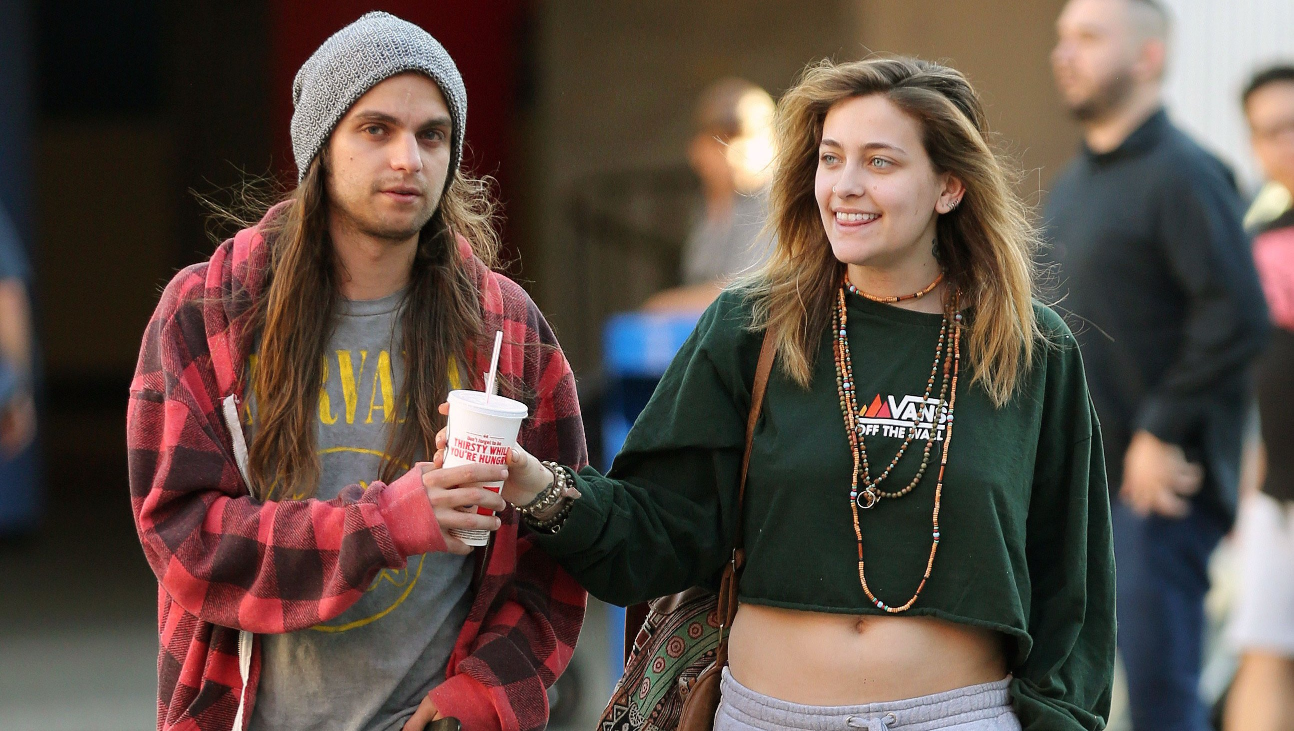 Paris Jackson Steps Out With BF Hours After Reported Hospitalization