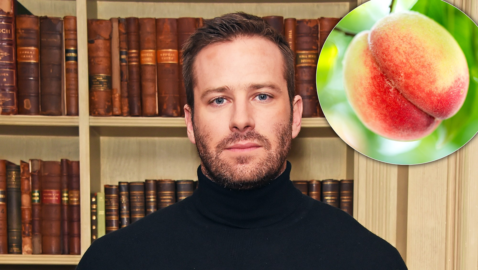 People Won't Stop Giving Armie Hammer Peaches After That 'Call Me By Your Name' Scene