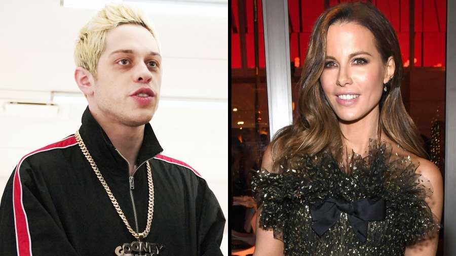 Pete Davidson and Kate Beckinsale Hold Hands at SNL Afterparty