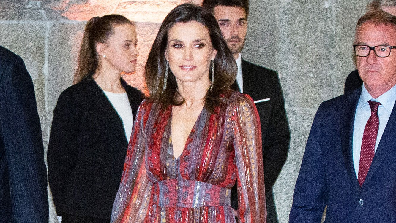 Queen Letizia's Finds a New Way to Style an Old Fave With Latest Look