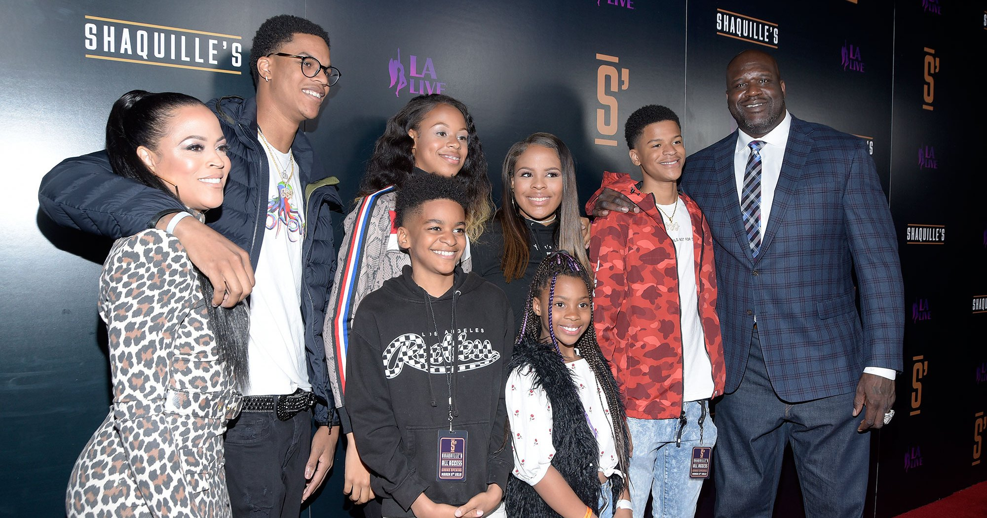 Shaquille O'Neal Talks Coparenting With Ex-Wife Shaunie