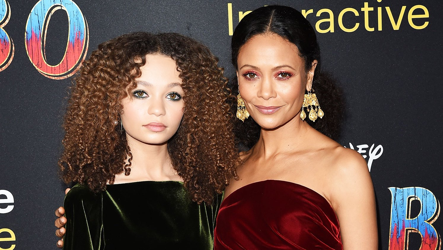 Thandie Newton and Nico Parker Are the Latest Matching Mother-Daughter Duo