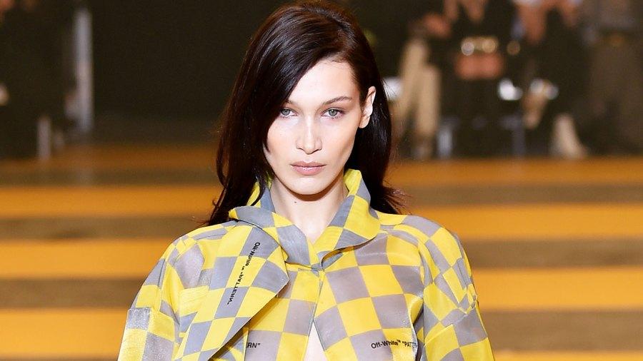 Bella Hadid Raveled She Was Battling a 101 Fever at Paris Fashion Week