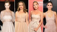 karlie kloss Natalie Portman Lady Gaga, Nina Dobrev Dior red carpet gallery for Stylish