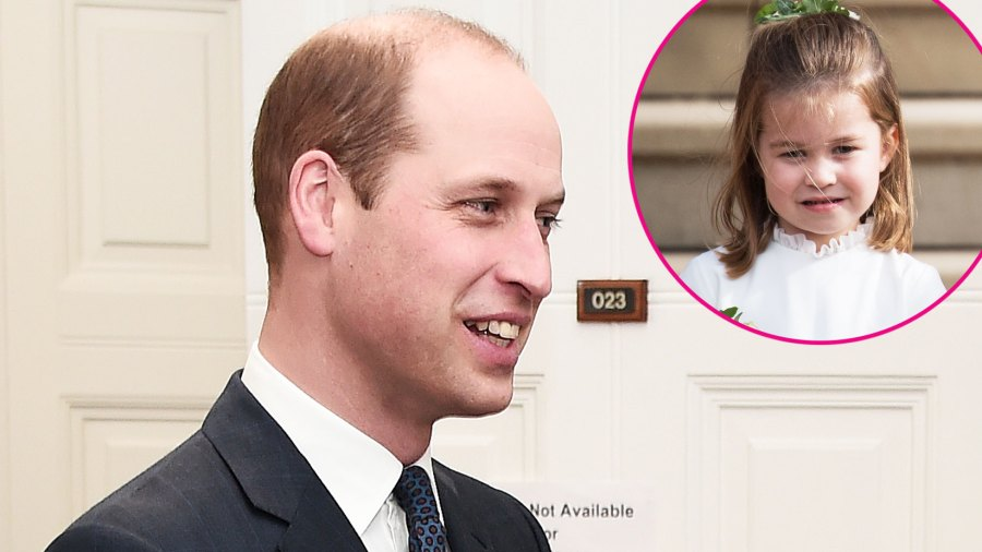 """Prince William Says Doing His Daughter's Ponytails Is a """"Nightmare"""""""