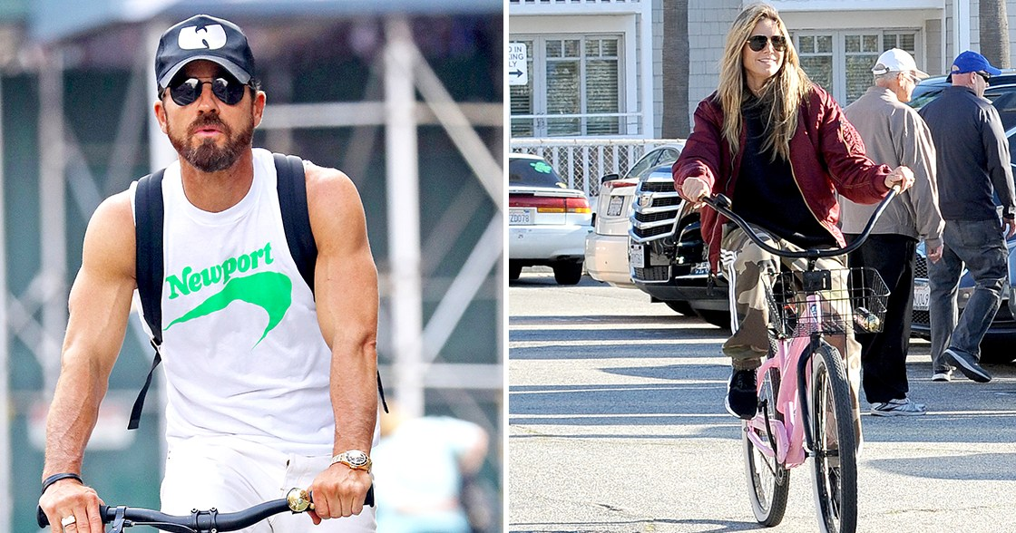 Celebrities on Bicycles! See Hollywood's Pedal Pushers Ride Through the Streets