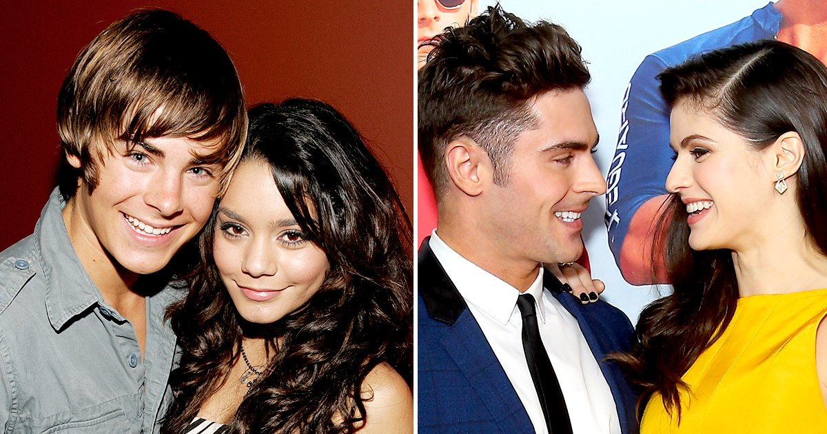 Zac Efron's Dating History: Vanessa Hudgens and More 1