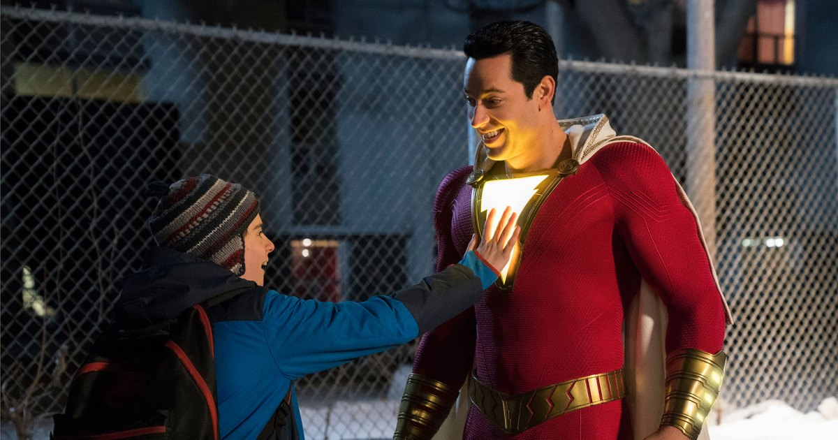 Movie Poster 2019: 'Shazam!' Review: Zachary Levi Brings The Fun