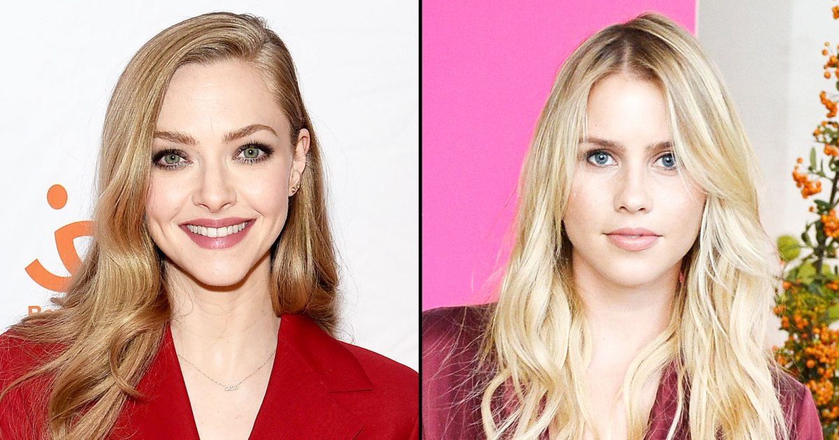 Amanda Seyfried Gives Claire Holt Breast-Feeding Advice