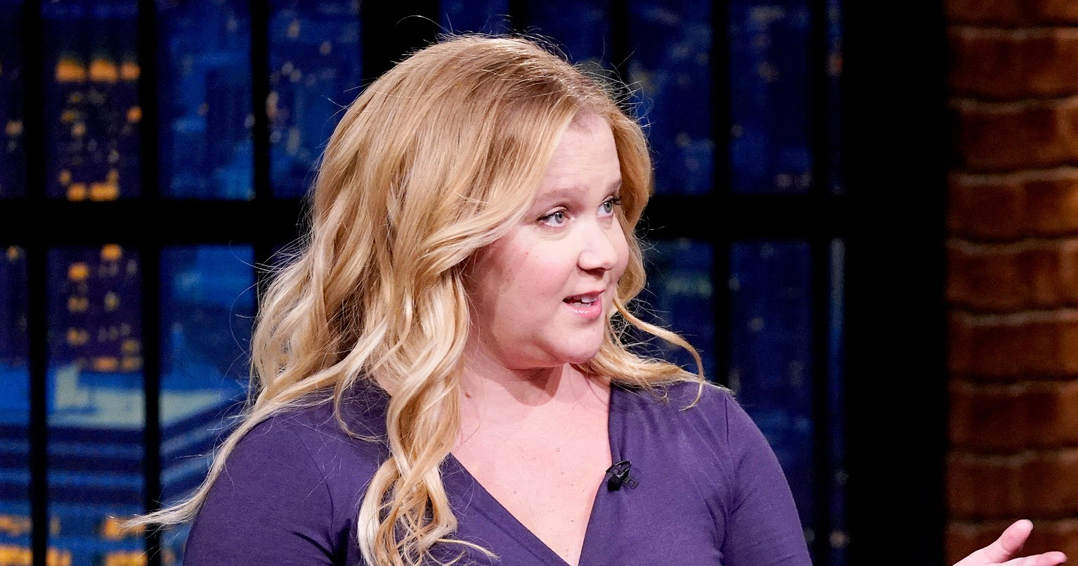 Amy Schumer Bashes Birth Rumors: I'm 'Pregnant and Puking'