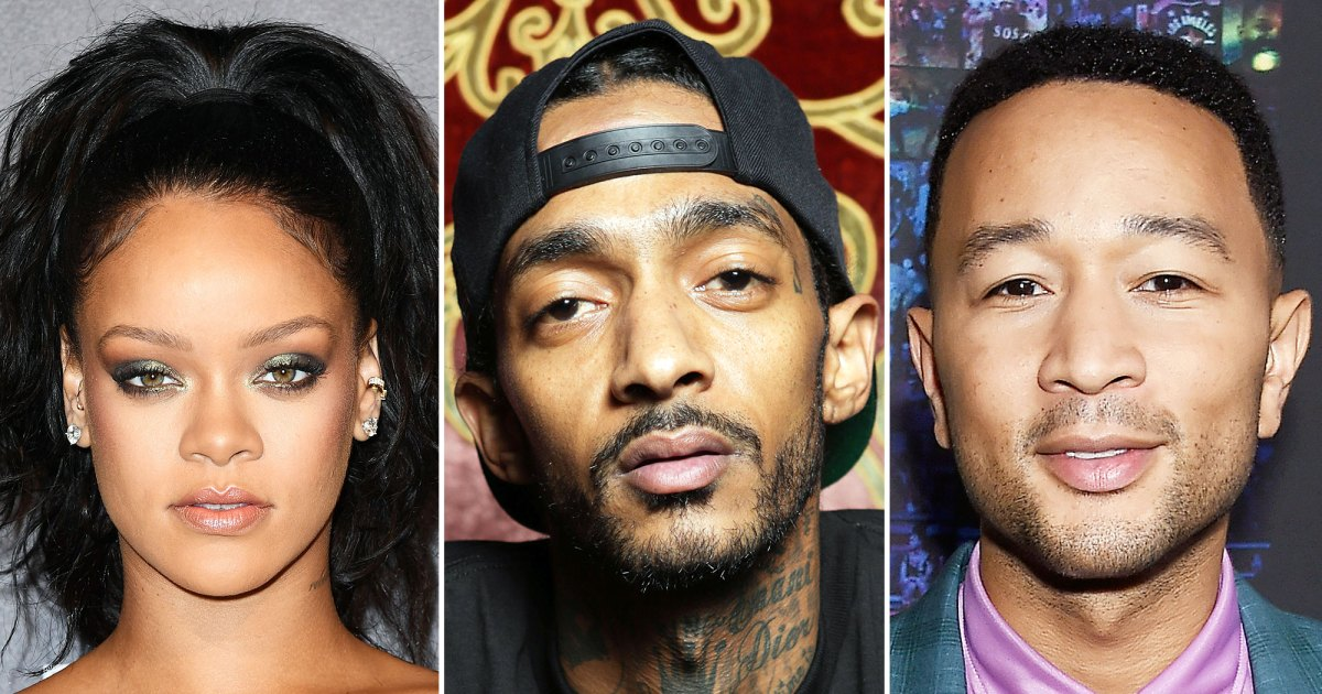 Rihanna, John Legend, Beyonce and More Pay Tribute to Nipsey Hussle