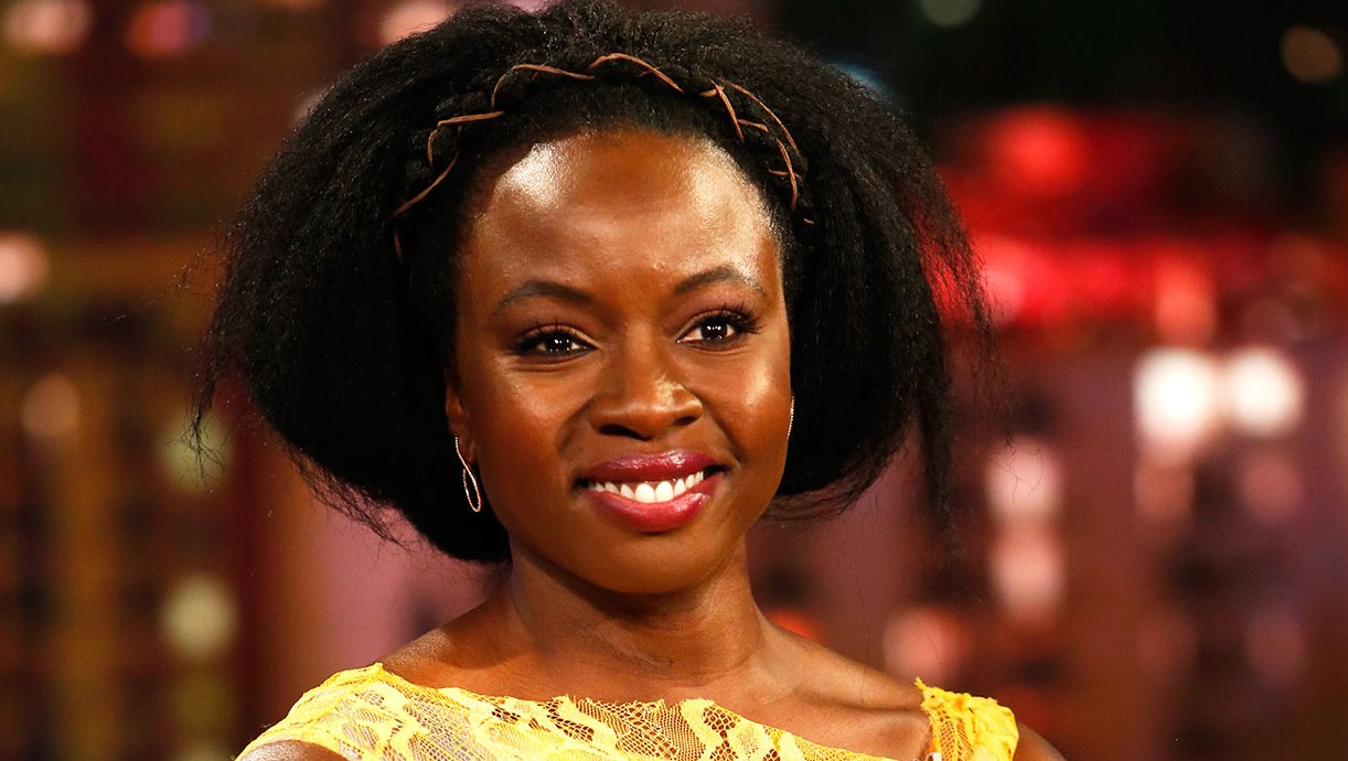 Actress Danai Gurira Meditation walking dead