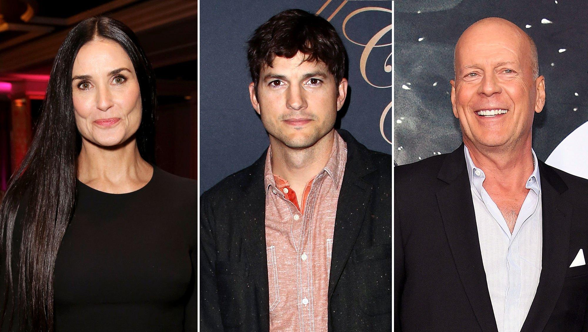 Demi Moore reflects Ashton Kutcher Bruce Willis candid memoir