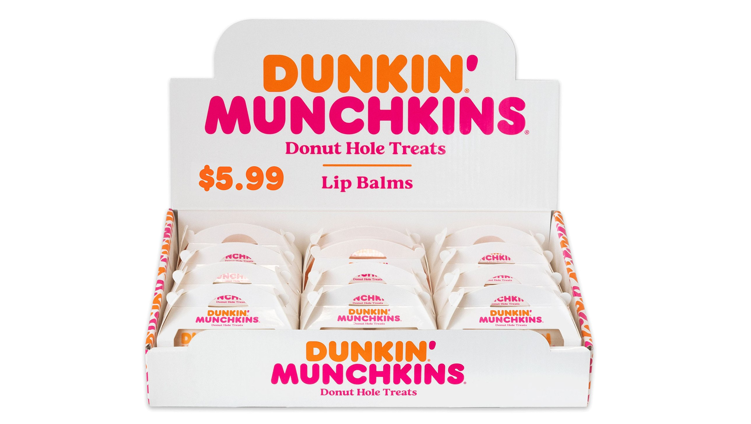 Dunkin Munchkins Donut Hole Treats Lip Balm