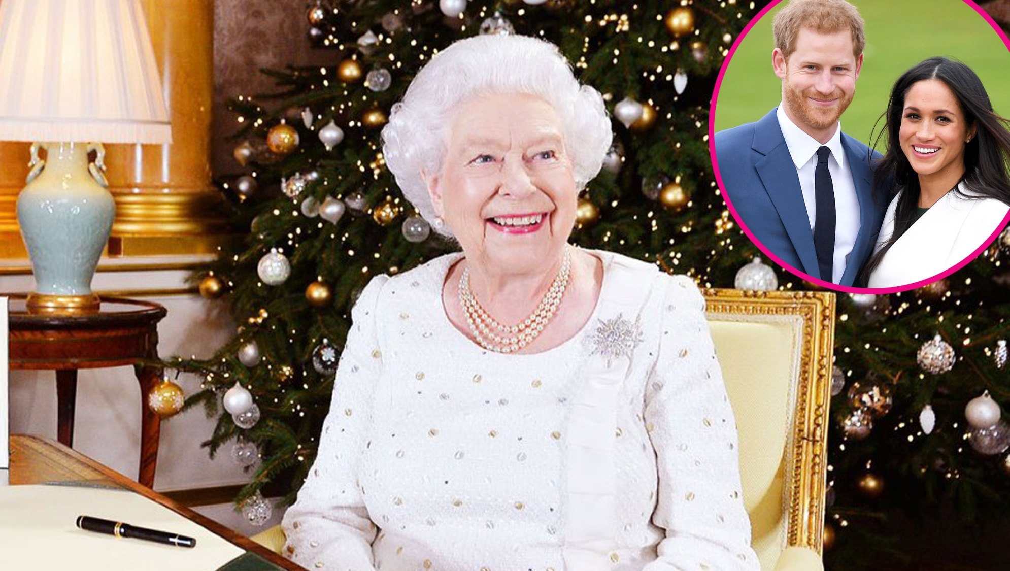 queen elizabeth prince harry meghan markle baby pregnancy christmas