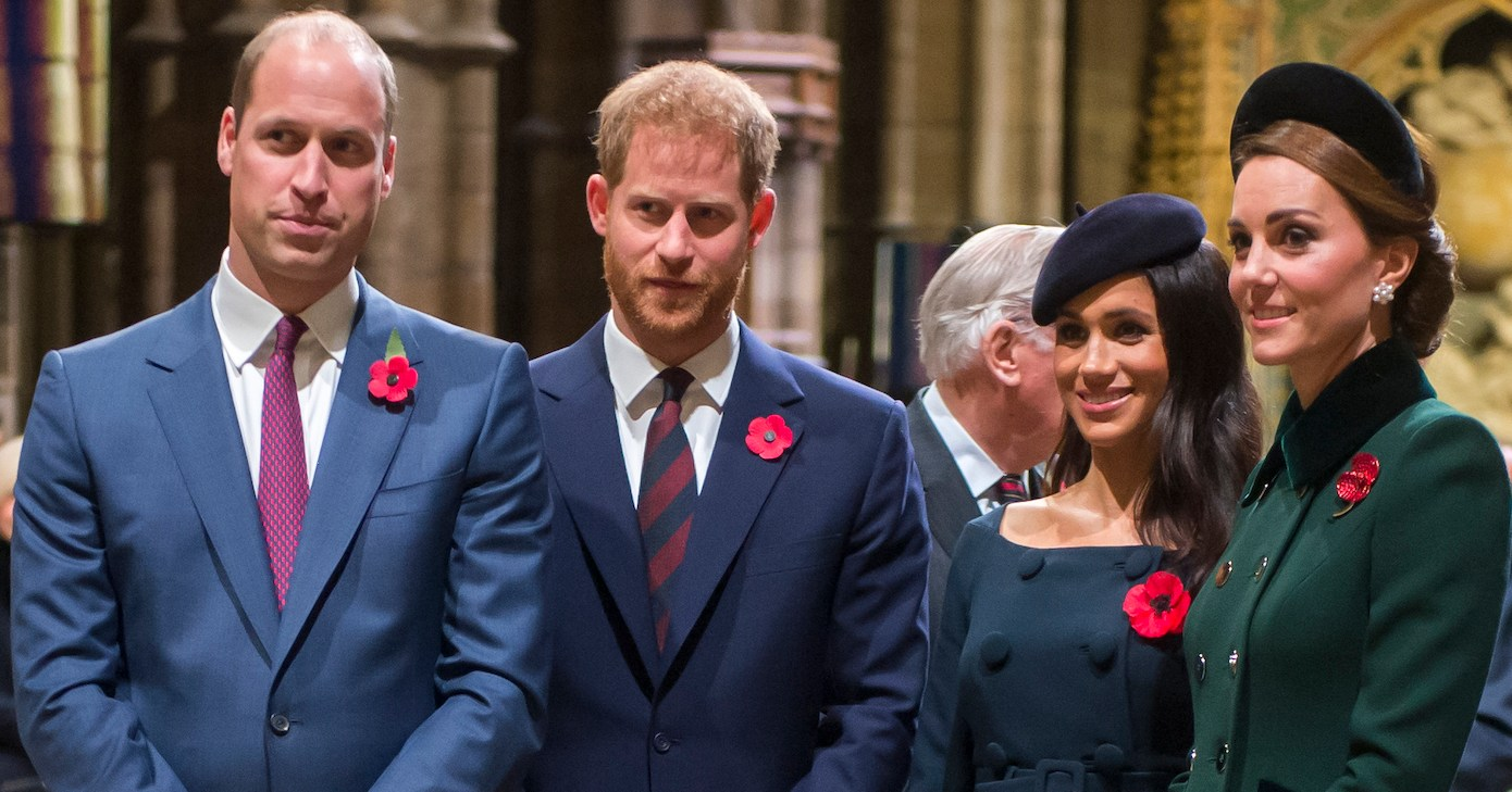 Prince William Says He Has 'No Idea' When Duchess Meghan Will Give Birth