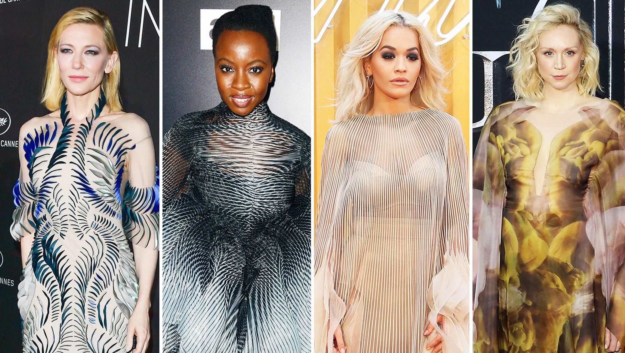 Cate Blanchett, Danai Gurira, Rita Ora, and Gwendoline Christie Stylish Iris van Herpen