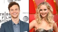Jack Quaid and Jennifer Lawrence Hunger Games