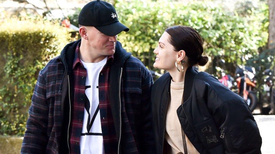 Jessie J Shares Photo With Boyfriend Channing Tatum holding hands london