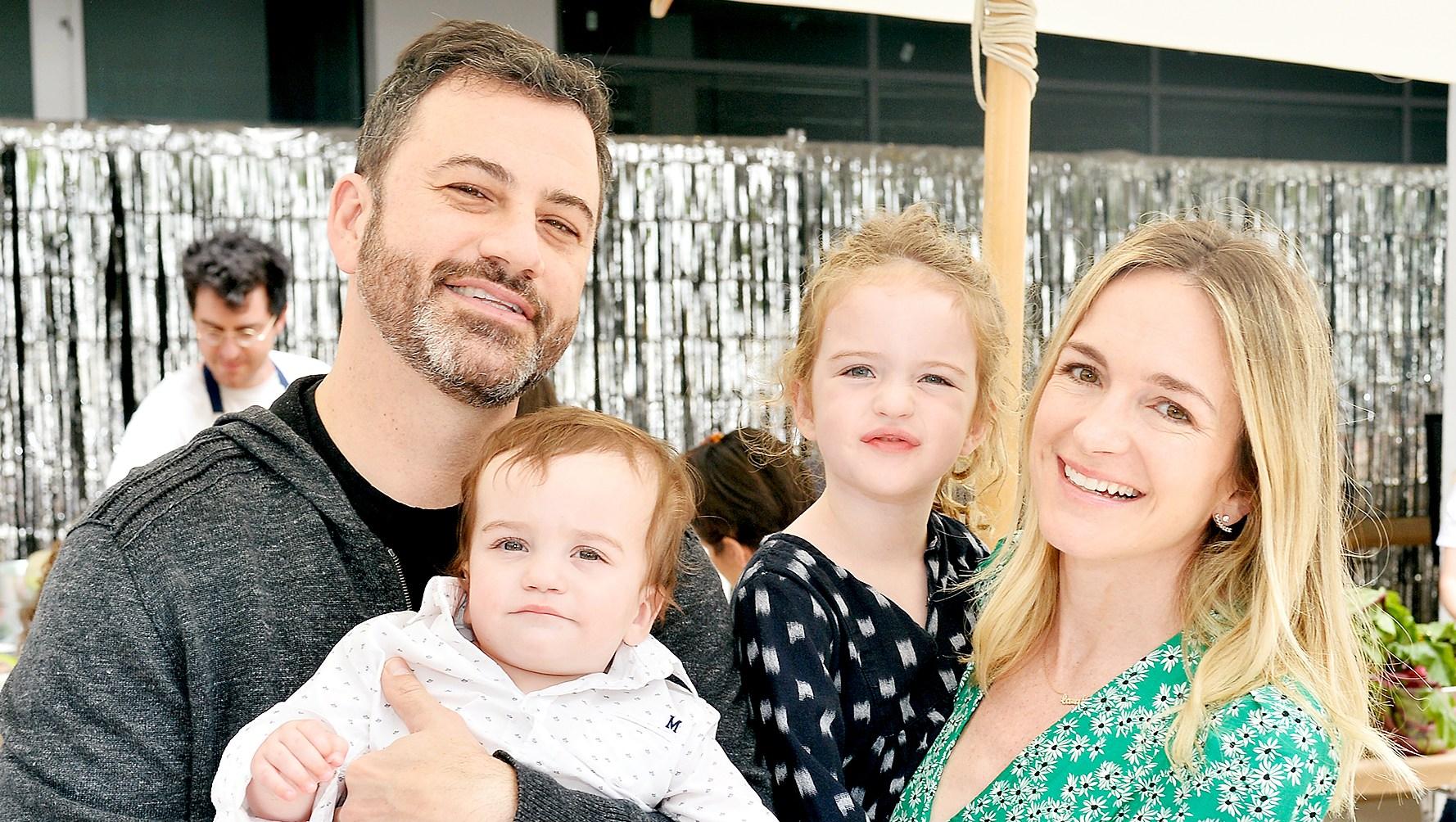 Jimmy-Kimmel,-Billy-Kimmel,-Jane-Kimmel-and-Molly-McNearney