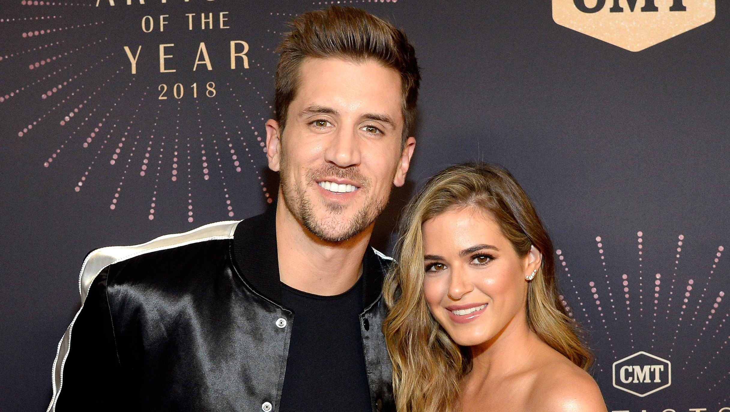 Jordan Rodgers Tells Joelle Fletcher 'We Are Up Next' As They Attend His Brother's Wedding