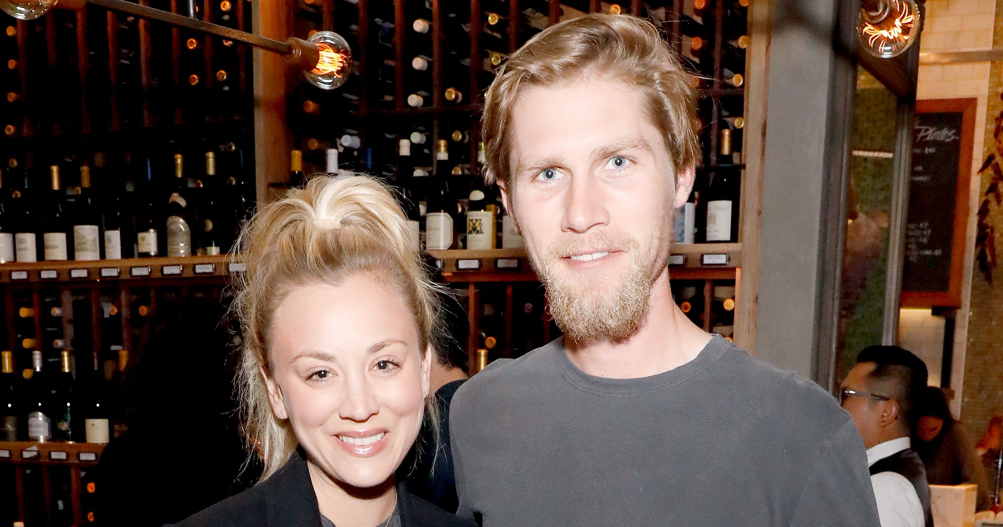 No Thanks! Kaley Cuoco Calls This Eating Habit of Her Hubby's 'So Gross'