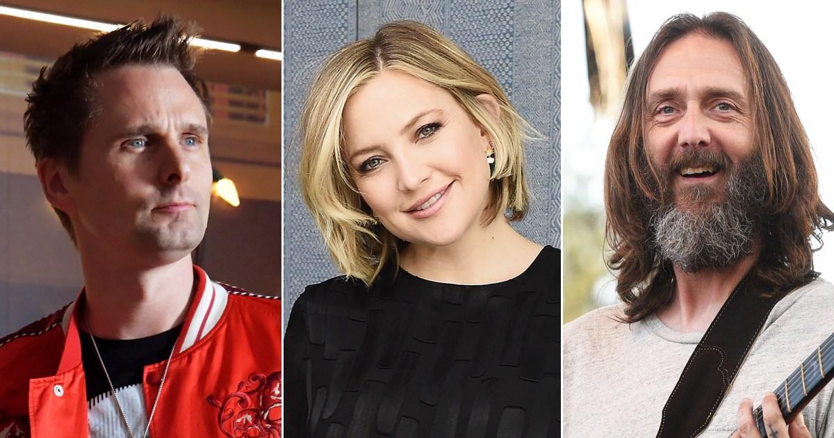 Kate Hudson's Coparenting With Exes Matt Bellamy, Chris Robinson