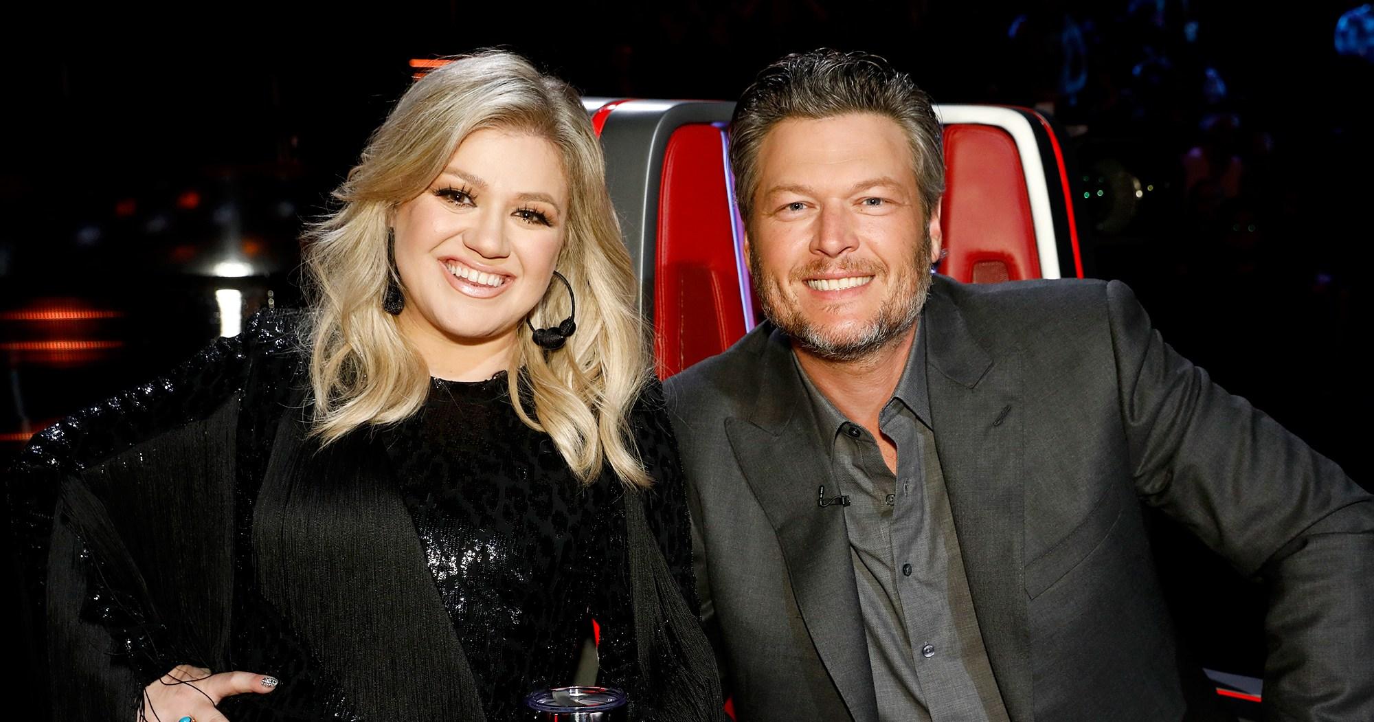 Burn! Kelly Clarkson Trolls Blake Shelton for 'Voice' Liquor Stash