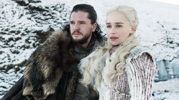 Game of Thrones Season 8 Premiere Kit Harington Jon Snow Emilia Clarke Daenerys Targaryen