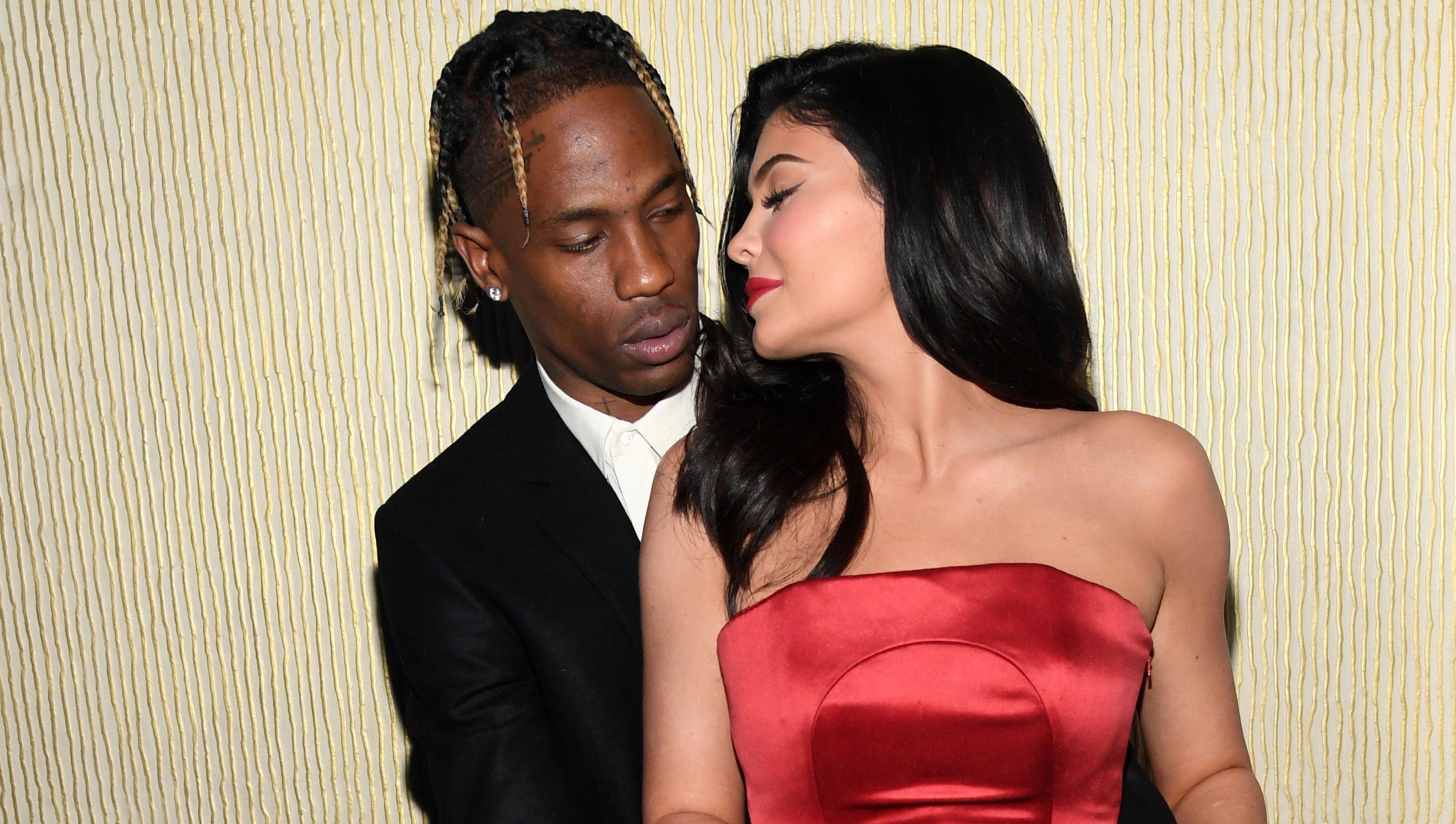 Kylie Jenner and Travis Scott Flirty Instagram