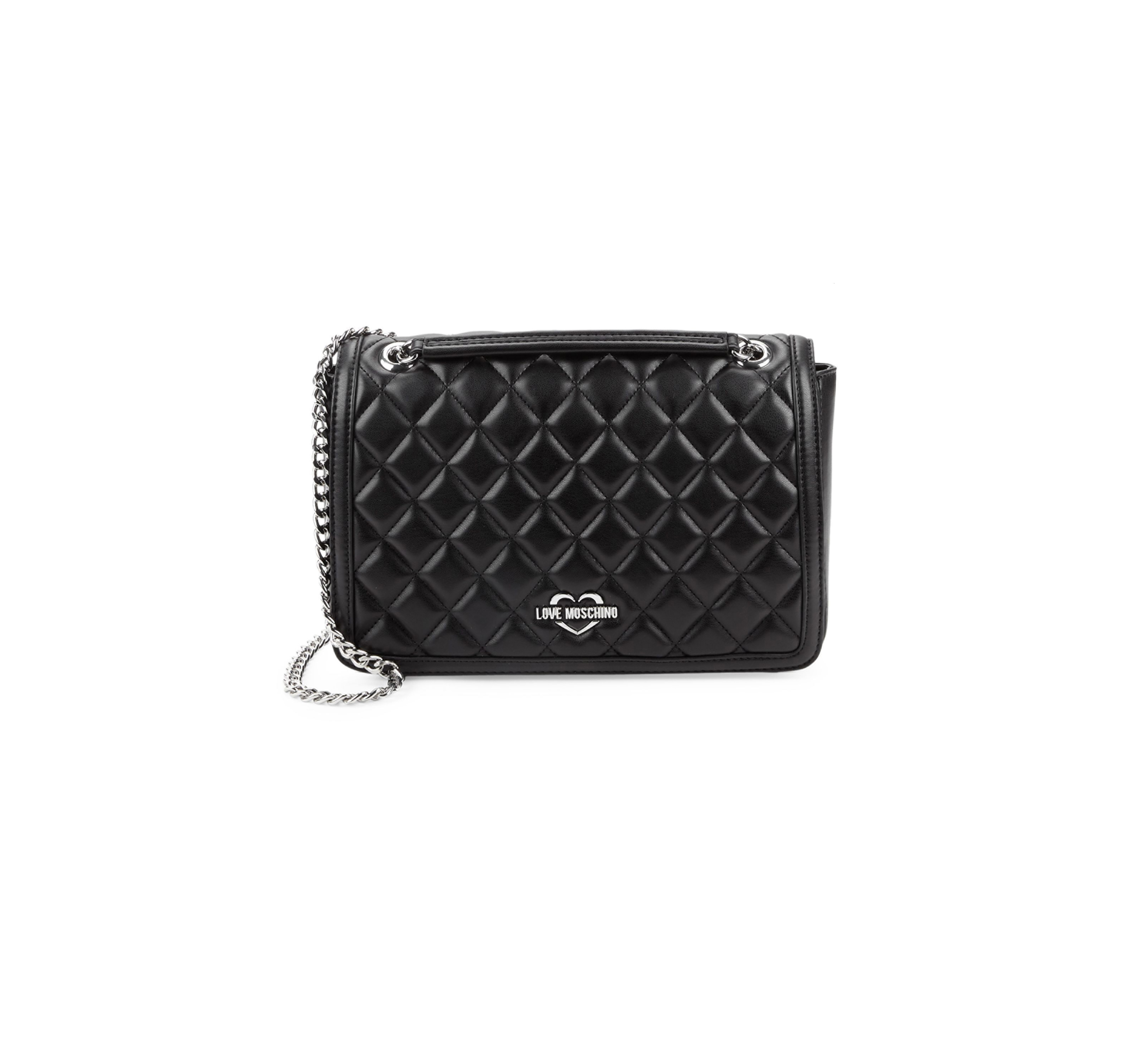 Now This 50Off Love Right Over Crossbody Quilted Is Moschino LzpjVSMqGU