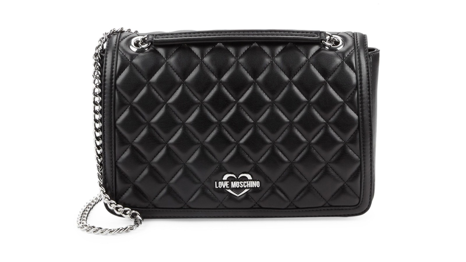 53bf57c71 Love Moschino? This Quilted Crossbody Is Over 50% Off Right Now!