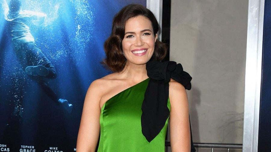 Mandy Moore Green Dress