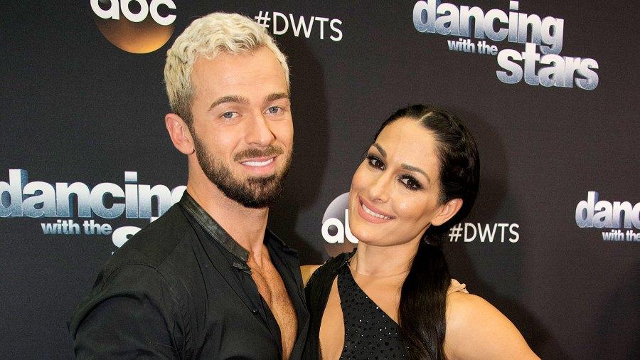 Artem Chigvintsev and Nikki Bella