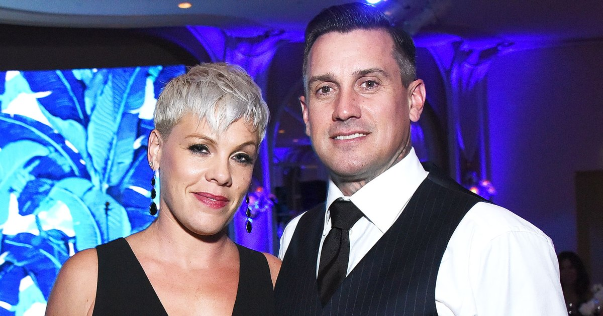 Pink's Husband Gives Her Motorcycle Instead of 'Another Baby'