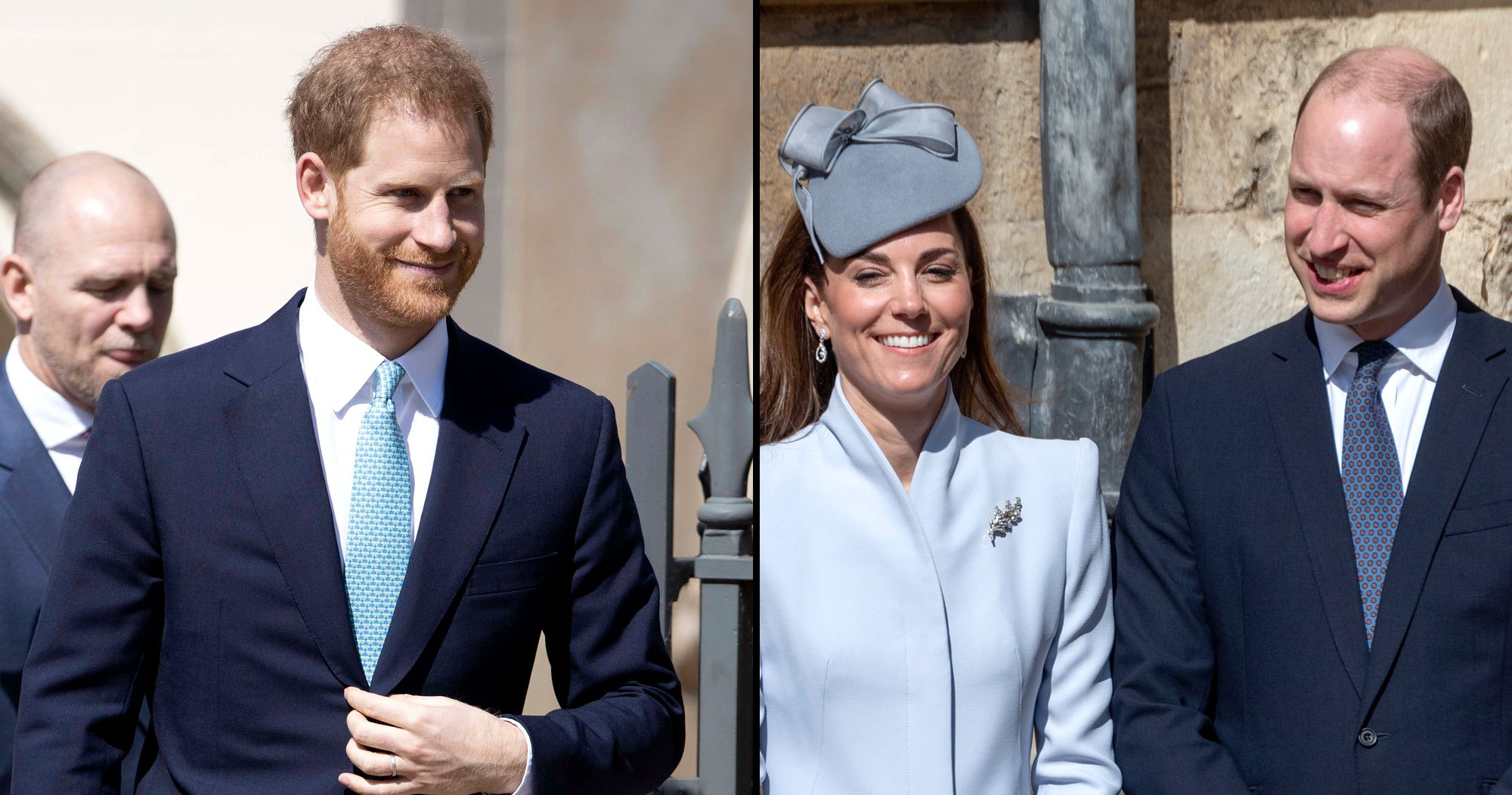 What Feud? Harry Makes Will and Kate Laugh in New Video From Easter Service