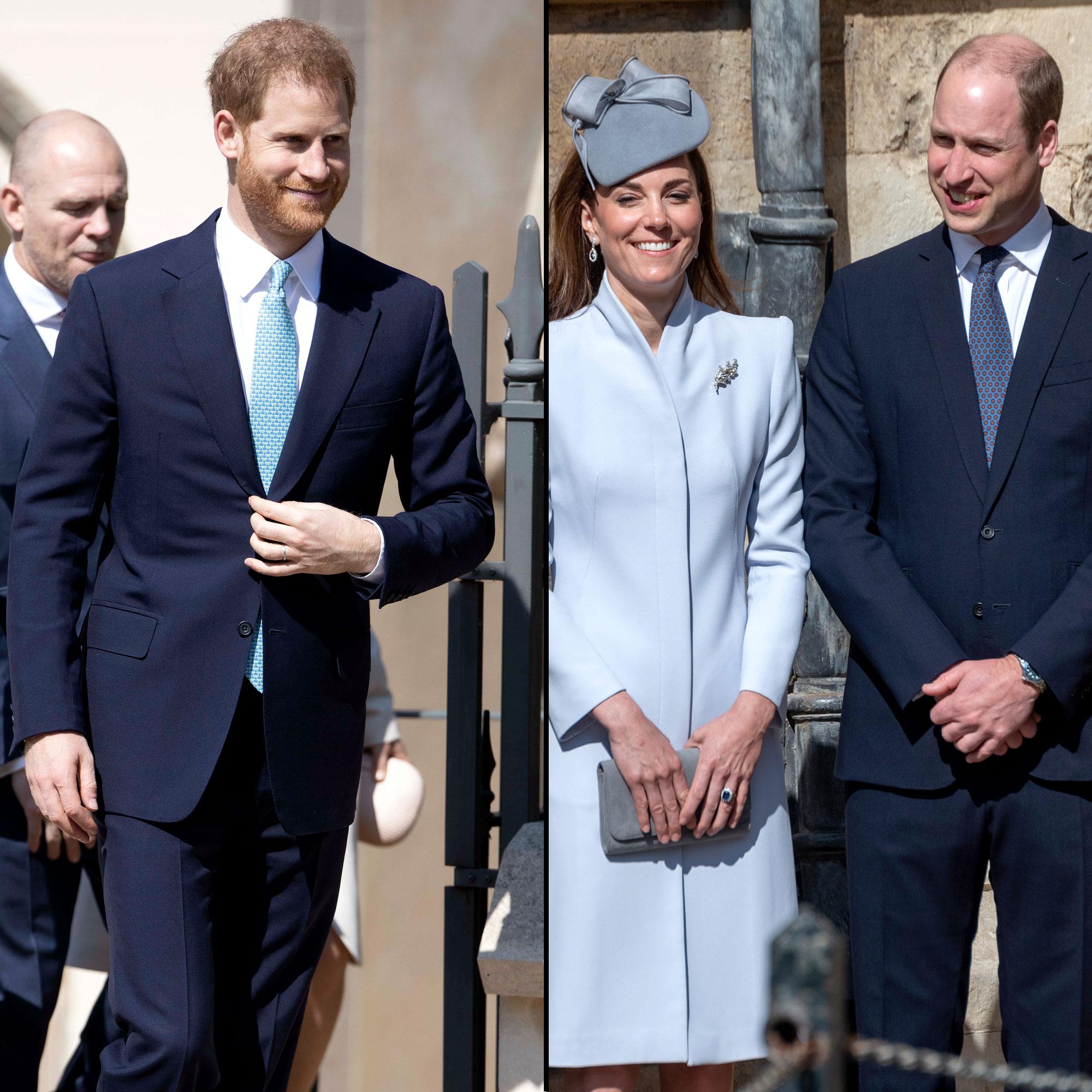 Prince Harry, Kate, Prince William Laugh