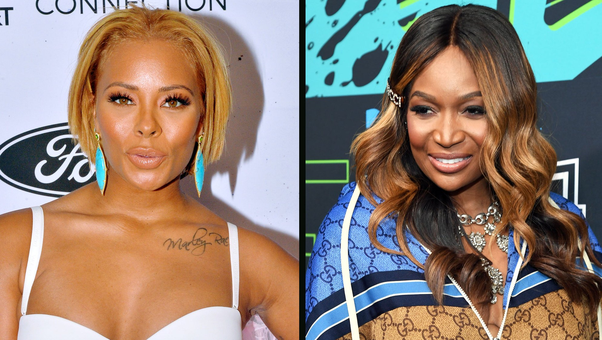 Real Housewives of Atlanta's Eva Marcille Accuses Marlo Hampton of Gay Bashing