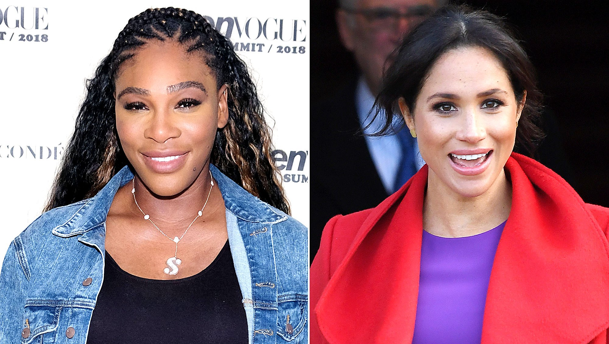 Serena Williams May Have Hinted at the Sex of Duchess Meghan's Royal Baby