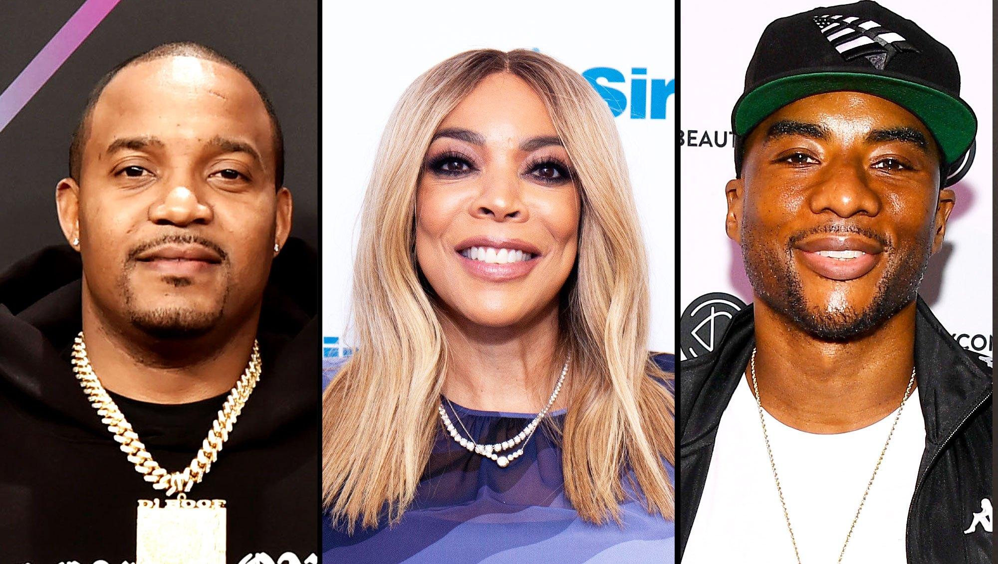 DJ Boof, Wendy Williams and Charlamagne Tha God double date
