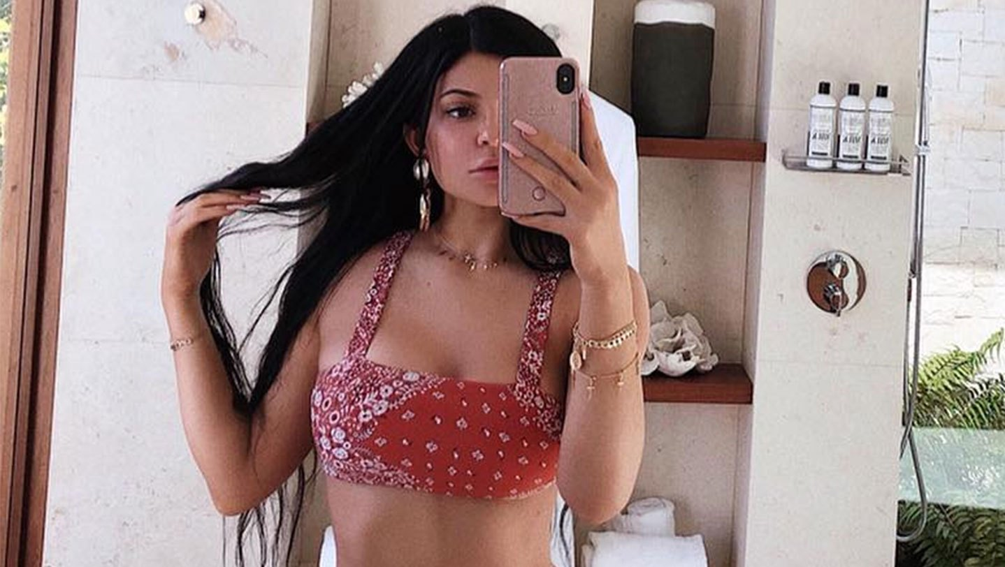 Kylie Jenner bikini body swimsuit
